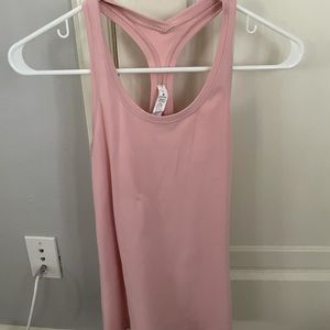 Lululemon light pink tank top!!